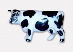 figura ceramica vaca