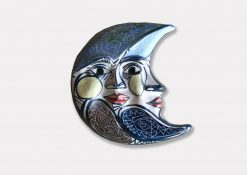 mascara luna ceramica