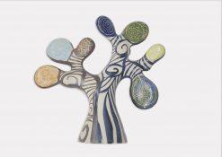 figura de cerámica arbol de la vida